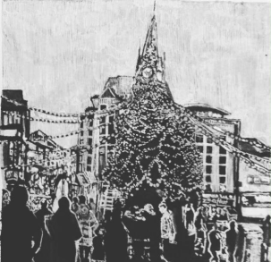 Leicester's Christmas Tree
